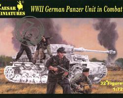 German Panzerunit in combat