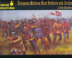 Footsoldiers and archers
