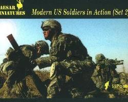 US army (Modern) in action set 2