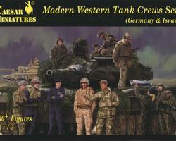 Western tankcrew set 1(Germany & Israel)