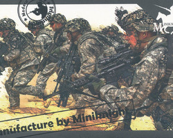 US infantry in action Modern