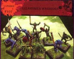 Lizardmen warriors