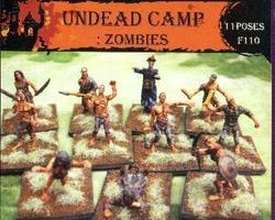 Zombies undead camp