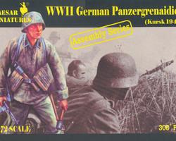 German Panzergrenadiers Kursk 1943