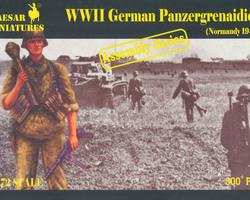 German Panzergrenadiers 1944 Normandy
