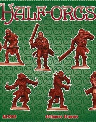 Half Orcs set 3 Heavy infantry