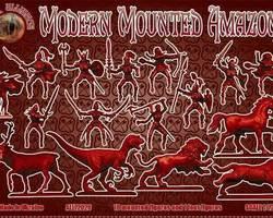 Modern Amazons set 2 cavalry