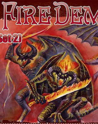 Fire Demons set 2