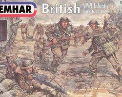 British infantry + tank crew