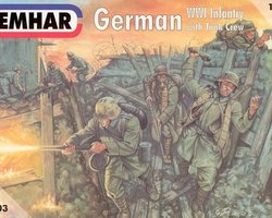 German infantry + tank crew