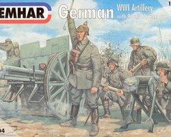 German artillery with 76mm gun