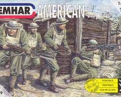 US infantry Doughboys