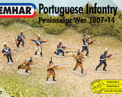 Portugese infantry