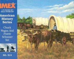 Chuck Wagon and Prairie Schooner set