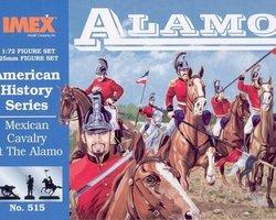 Mexican cavalry Alamo