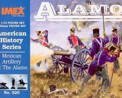 Mexican artillery Alamo