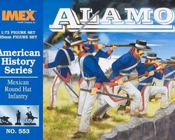 Mexican Round hat infantry Alamo