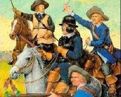 Swedish cavalry dragoons