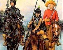 Swedish cavalry cuirassiers