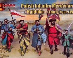 Polish Haiduki infantry 30YW