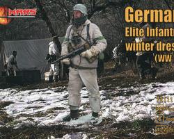 German Elite infantry winter
