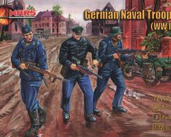 German Naval troops