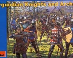 Burgundian Knights and archers