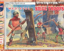Siege troops Medieval