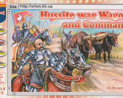 Hussite War Wagon + Command