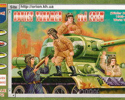 Soviet tankmen and crew winterdress