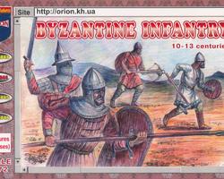 Byzantine infantry 10-13C