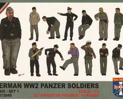 German Panzer Soldiers set 1