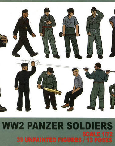 German Panzer Soldiers set 2