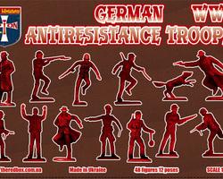 German anti-resistance troops
