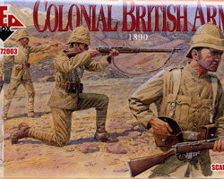 British infantry Colonial 1890