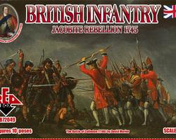 British infantry 1745