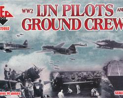 Japanese Navy Pilots and Groundcrew