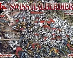 Swiss infantry set 3
