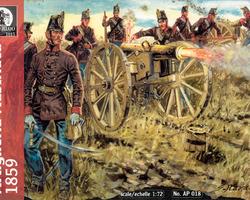 Austrian Artillery 1859