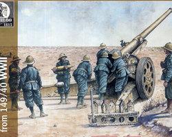 Italian Artillery gun 149/40