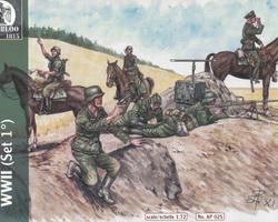 German Cavalry set 1