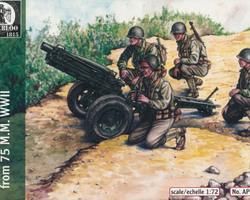 US Mountain gun 75mm