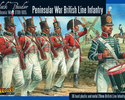 British infantry Peninsular