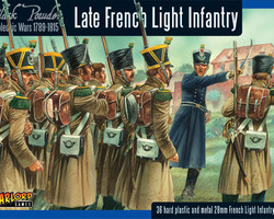 French Light infantry late