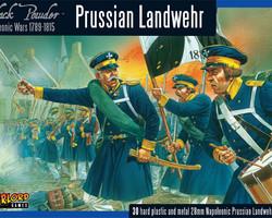 Prussian Landwehr infantry