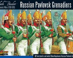 Russian Pavlovsk Grenadiers