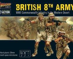British 8th Army infantry