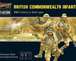 British Commonwealth infantry Desert