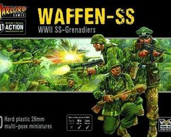 German Waffen SS grenadiers