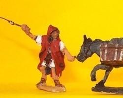 Roman Legionaire with donkey